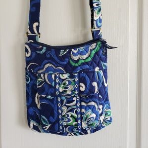 Vera Bradley blue crossbody purse